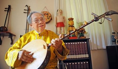 Giáo sư Trần Văn Khê lúc sinh thời.