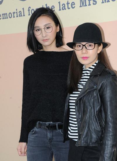 Cao Hải Ninh (trái) và Trương Mỹ Ni.