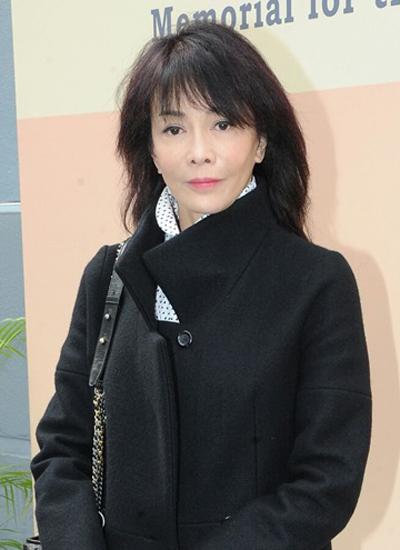 Diễn viên gạo cội Hong Kong Trịnh Du Linh.