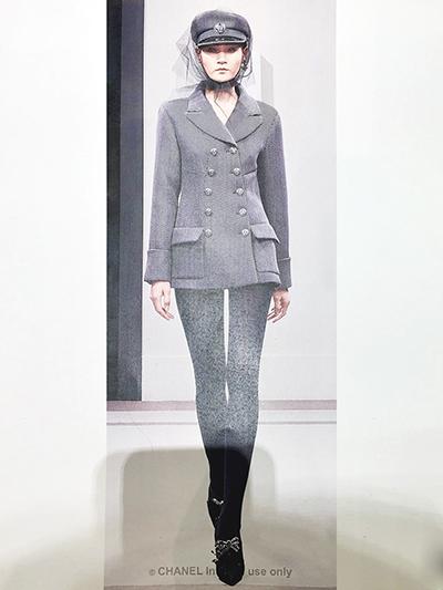 Thùy Trang trong một thiết kế mới nhất của Chanel.