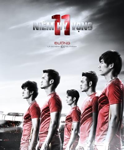 Võ Hoài Nam tái xuất trong phim về bóng đá