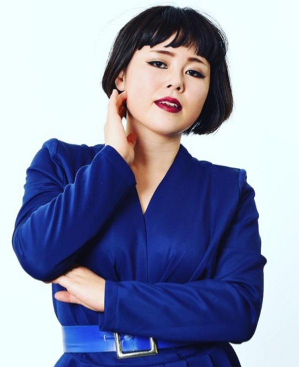 <p> Chiemi Blouson - nghệ sĩ hài sinh năm 1990 - ở vị trí thứ tư.</p>