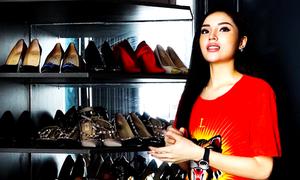 Tủ đồ hiệu nghìn USD của Hoa hậu Kỳ Duyên