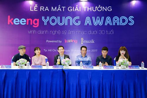 Hội đồng nghệ thuật Keeng Young Award.