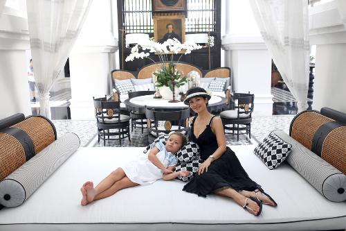 Điểm nghỉ dưỡng yêu thích của gia đình sao Việt - 1