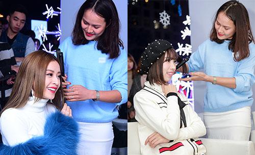 Chi Pu trình diễn ca khúc mới tại sự kiện Giáng sinh