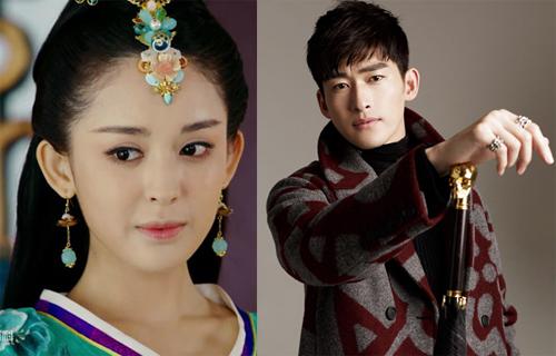 Cổ Lực Na Trát và Trương Hàn.