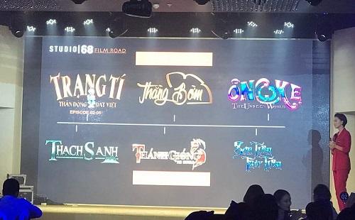 Ngô Thanh Vân giới thiệu các dự án.