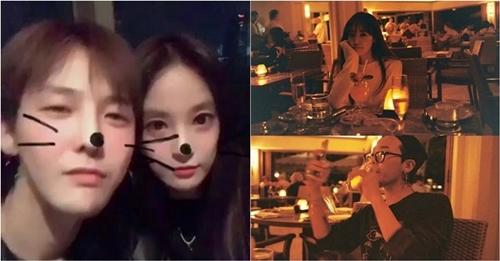 G-Dragon và Lee Joo Yeon từng nhiều lần lộ bằng chứng hẹn hò.