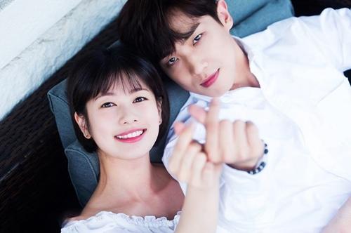Lee Joon và Jung So Min - cặp tình nhân mới của làng giải trí Hàn.