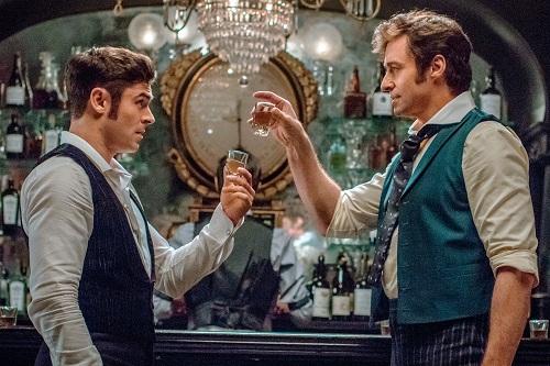 Zac Efron thủ vai một nghệ sĩ cộng tác với Hugh Jackman.