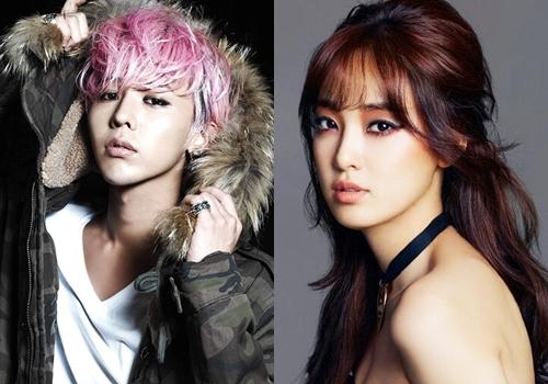 G-Dragon hẹn hò cựu thành viên nhóm nhạc hơn tuổi