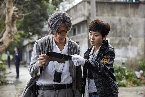 Tạo hình của Lưu Thi Thi trong phim.