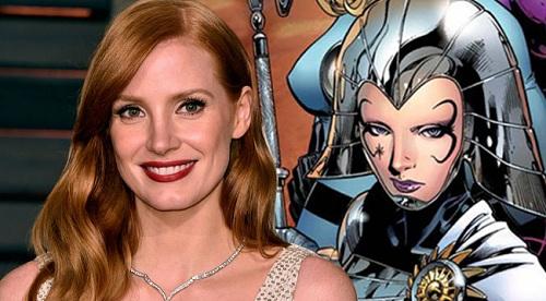 Jessica Chastin tham gia loạt phim X-Men.
