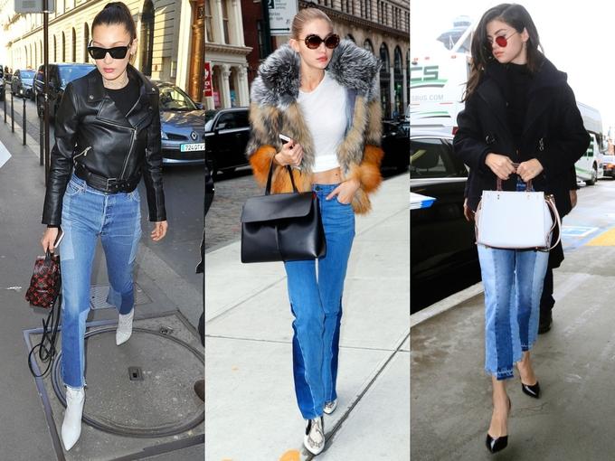 Những kiểu quần jeans khác thường của sao Hollywood