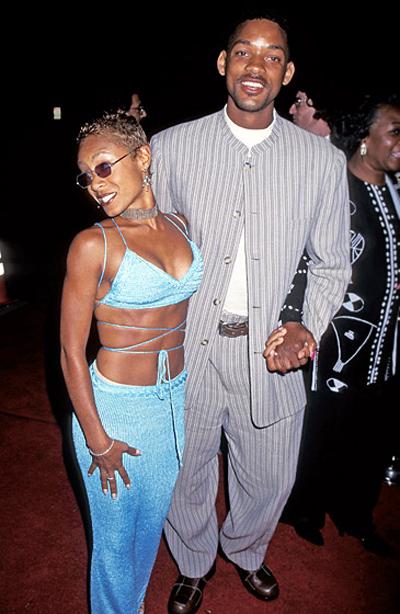 Will Smith và Jada Pinkett gặp nhau năm 1994 trong cuộc thử vai của loạt phim truyền hình The Fresh Prince of Bel-Air. Jada Pinkett muốn thử vai bạn gái của Will Smith trong phim nhưng không được nhận vì quá thấp so với nam chính. Cả hai bắt đầu quen biết và hẹn hò vào năm 1995.