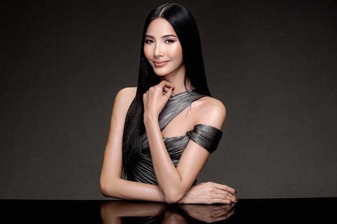 Hoàng Thùy khoe hình thể trước thềm chung kết Hoa hậu Hoàn vũ