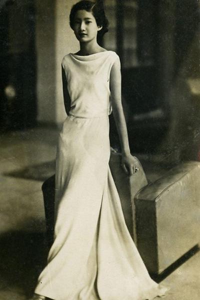 Nam Phương Hoàng hậu thời còn học ở Pháp.