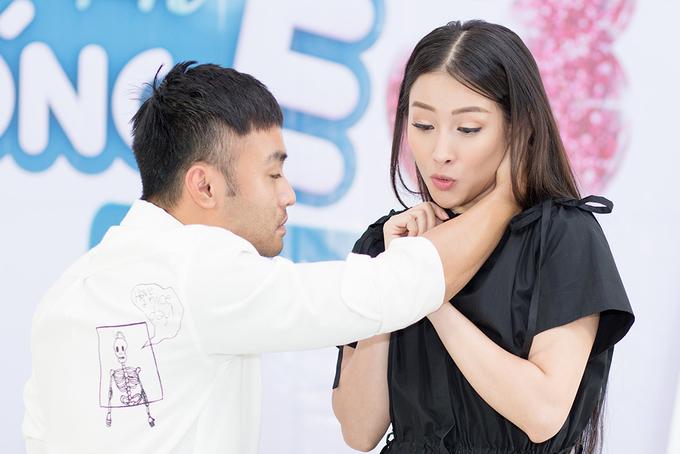 Yaya Trương Nhi bối rối khi bị bạn diễn hôn