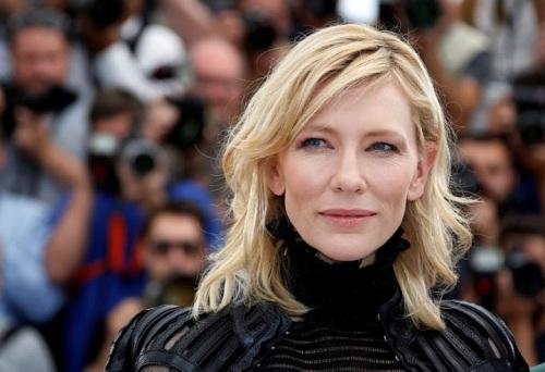 Cate Blanchett ở Liên hoan phim Cannes 2015. Ảnh: Reuters.