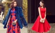 Đỗ Mạnh Cường lăng xê 5 kiểu mặc màu đỏ đầu năm mới
