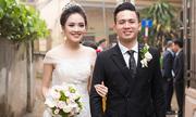 Tố Như diện váy gắn kim cương trong ngày cưới