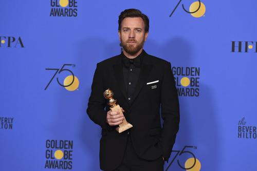 Ewan McGregor thắng giải Nam diễn viên xuất sắc trong series ngắn tập/phim truyện truyền hình với tác phẩm Fargo.