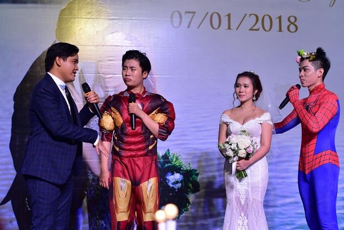 Dàn sao dự tiệc cưới diễn viên 'Cánh đồng bất tận'