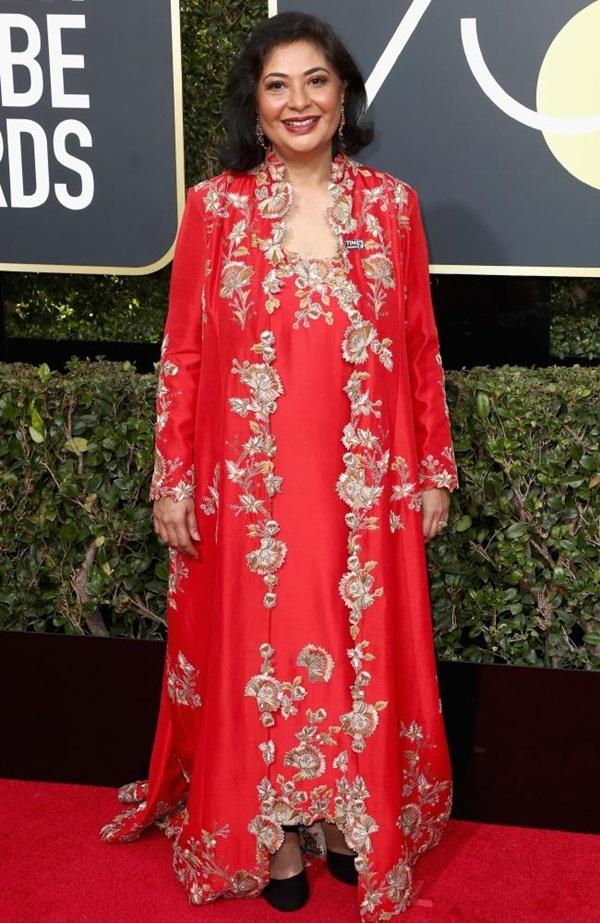 Sao mắc lỗi trang phục trên thảm đỏ Quả Cầu Vàng