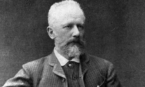 Nhà soạn nhạc Tchaikovsky.