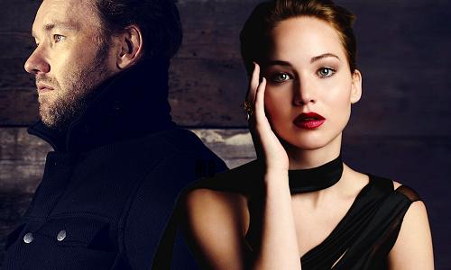 Jennifer Lawrence và nam chính Joel Edgerton.