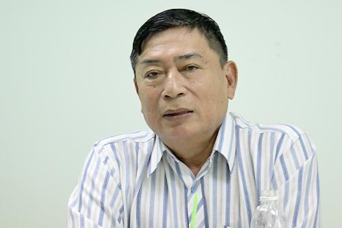 Ông Phạm Sỹ Sáu, phó chủ tịch Hội Nhà văn TP HCM