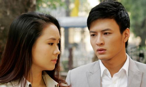 Cặp Minh Khang (Hồng Đăng) - Mộc Miên (Hồng Diễm) trong phim.