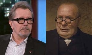 200 giờ hóa trang, 61 gương mặt giả giúp Oldman hóa thủ tướng Anh
