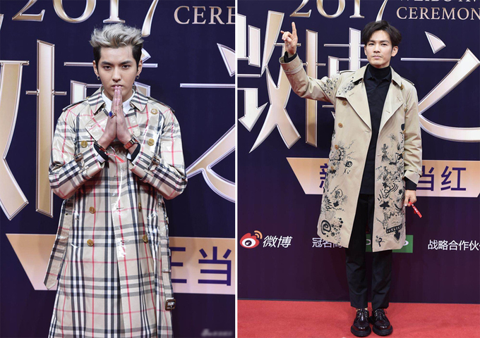 Dàn người đẹp gốc Hoa đọ váy áo trên thảm đỏ