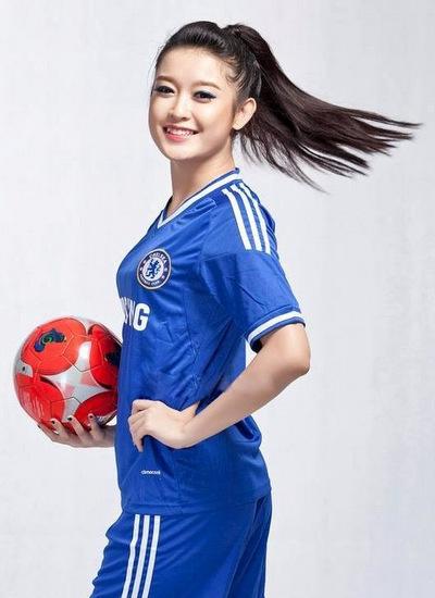 Huyền My là fan của đội bóng Chelsea và Việt Nam.