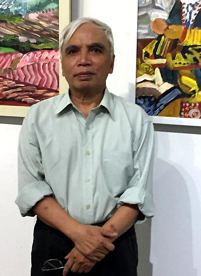 Họa sĩ Tô Ngọc Thành.