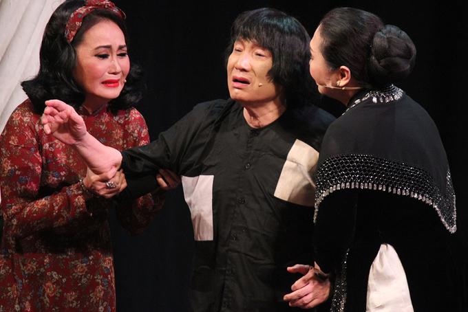 NSƯT Minh Vương được cổ vũ khi tái xuất trong 'Đời cô Lựu'