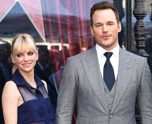 Vợ chồng Anna Faris và Chris Pratt khi còn bên nhau.