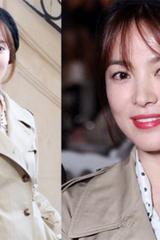 Song Hye Kyo mặc cổ điển dự Tuần thời trang Paris