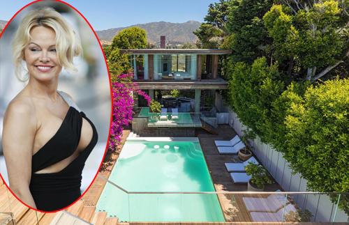Mới đây, Pamela Anderson rao cho thuê biệt thự bên bờ biển Malibu, California, Mỹ sau một thời gian dài không sử dụng. Cô yêu cầu mức giá 70.000 USD một tháng mùa hè và 40.000 USD các tháng còn lại trong năm.