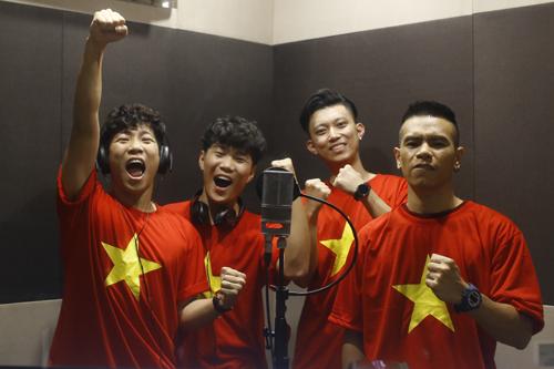Nhóm OPlus sáng tác ca khúc cổ vũ đội tuyển U23 Việt Nam chỉ trong ba ngày.