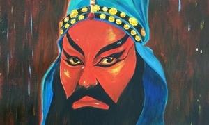 Nhiều họa sĩ vẽ tranh kêu gọi bảo tồn nghệ thuật hát bội