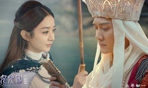 Triệu Lệ Dĩnh hóa nữ vương yêu Đường Tăng trong phim mới
