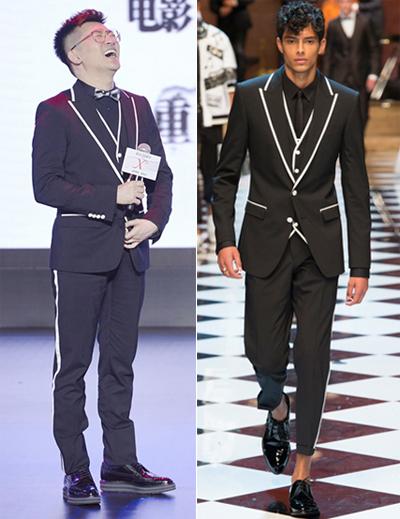 Tài tử mặc nguyên cây Dolce & Gabbana