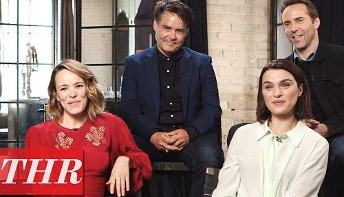 Từ trái sang: Rachel McAdams, Sebastián Lelio, Rachel Weisz và nam diễn viênAlessandro Nivola ở Liên hoan phim Toronto 2017. Ảnh: Hollywood Reporter.