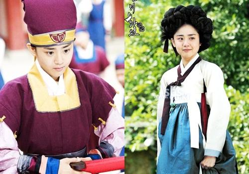 Năm 2008, ở tuổi 21, GeunYoung trở thành diễn viên trẻ nhất Hàn Quốc nhận Daesang - giải thưởng cao nhất về diễn xuất - tạiSBS Drama Awards và 5 giải thưởng lớn khác. TheoDaum,phimcổ trang Họa sĩ gió (Painter of the wind) là tác phẩm đưa diễn viên trẻ lên hàng ngũ sao hạng A.Phim được chuyển thể từ cuốn tiểu thuyết cùng tên bán chạy nhất của tác giả Lee Jung Myung. Moon GeunYoung vào vaiShin Yun Bok - họa sĩ tài năng - cải trang nam nhi để tìm hung thủ giết cha. Trên con đường gian nan ấy, cô gặp họa sĩ bậc thầy Kim Hong Do (Park Shin Yang đóng) và trở thành họa sĩ vĩ đại dưới sự hướng dẫn của thầy. Phim là bản tình ca đẹp về tình thầy trò, tình yêu cao thượng. Đặc biệt, Moon GeunYoung và Moon Chae Won là cặp sao nữ đầu tiên của Hàn Quốc đoạt giảiBest Couple nhờ sự tương tác ăn ý.