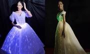 Phạm Hương, Hoàng Thùy diện váy phát sáng lên thảm đỏ