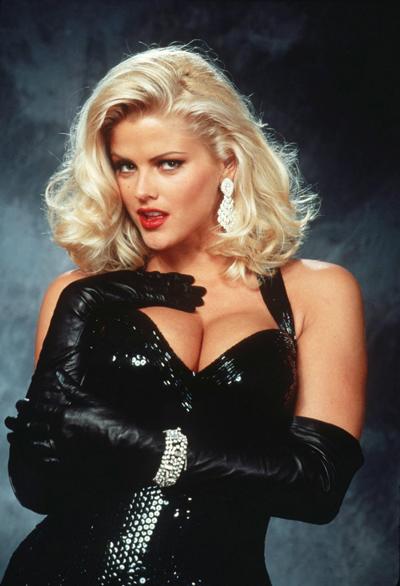 Anna Nicole Smith từng là biểu tượng của sự quyến rũ.