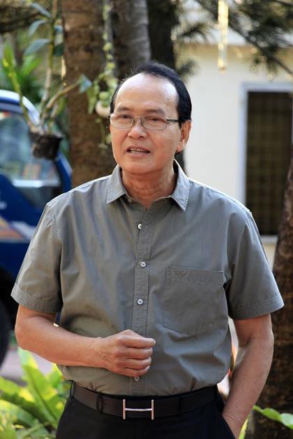 Nghệ sĩ Thanh Điền vào vai ông Năm trong Lộc lạ đầu xuân.